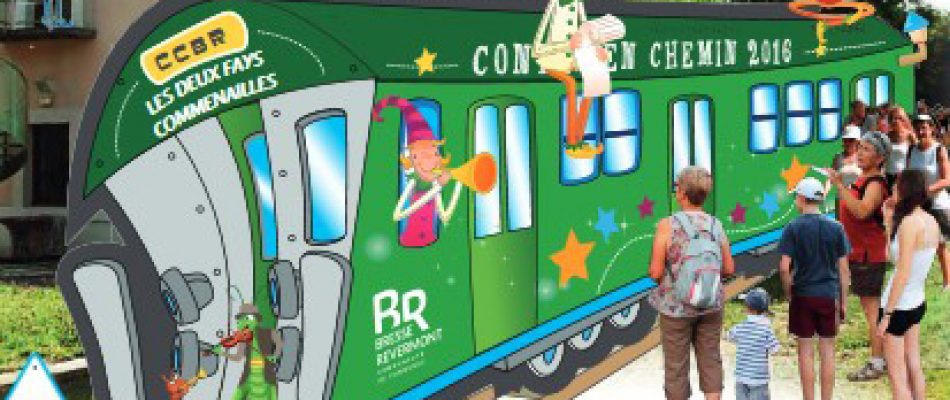 «Un rail peut en cacher un autre»  à Contes en Chemin