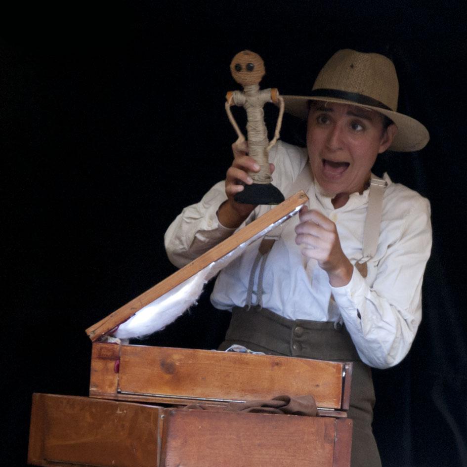 """""""Histoire Cousue Main"""" au Théâtre de la Marionnette de Belfort"""