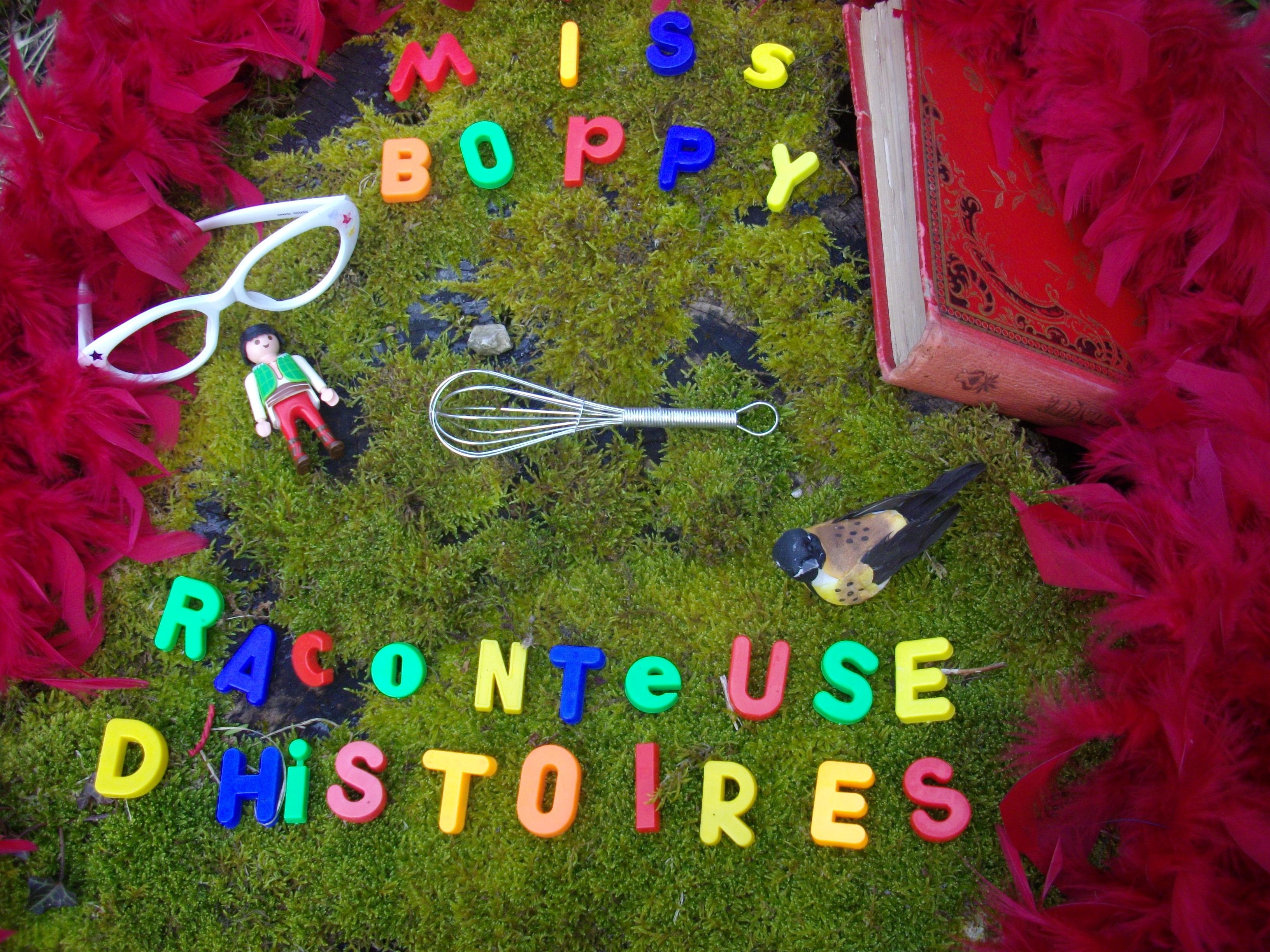 """""""Miss Boppy, raconteuse d'histoires"""" à Collonge-lès-Premières"""