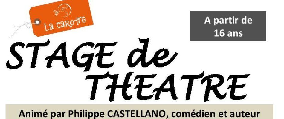 Stage Théâtre «Vivre»